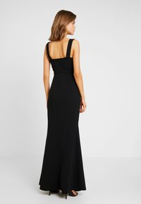 WAL G. - V NECK MAXI - Robe de cocktail - black