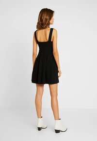 WAL G. - V NECK SKATER - Jersey dress - black - 3