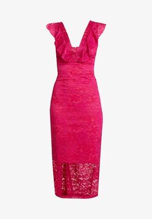 Sukienka koktajlowa - fuschia