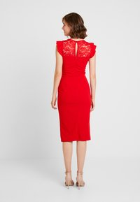 WAL G. - Cocktailjurk - red - 3