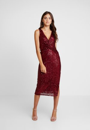 Cocktail dress / Party dress - wine