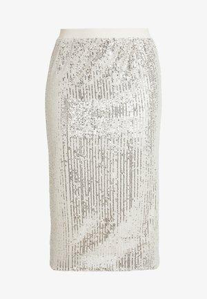 Blyantskjørt - champange