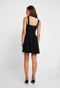 WAL G. - V NECK SKATER - Cocktail dress / Party dress - black - 3