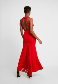 WAL G. - BACKLESS NECK WITH  FISH TAIL - Iltapuku - red - 3