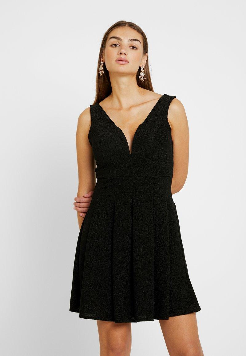 WAL G. - SKATER DRESS - Cocktail dress / Party dress - black