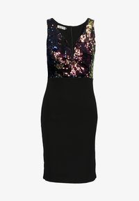 WAL G. - SEQUINS DRESS - Sukienka koktajlowa - black - 5