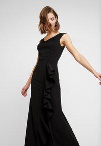 WAL G. - MAXI DRESS WITH FRILL SKIRT - Festklänning - black - 4