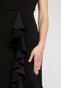 WAL G. - MAXI DRESS WITH FRILL SKIRT - Festklänning - black - 6