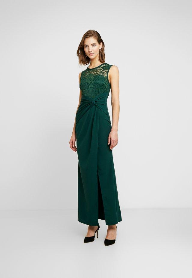 ROUND NECK SPLIT MAXI - Occasion wear - forest green