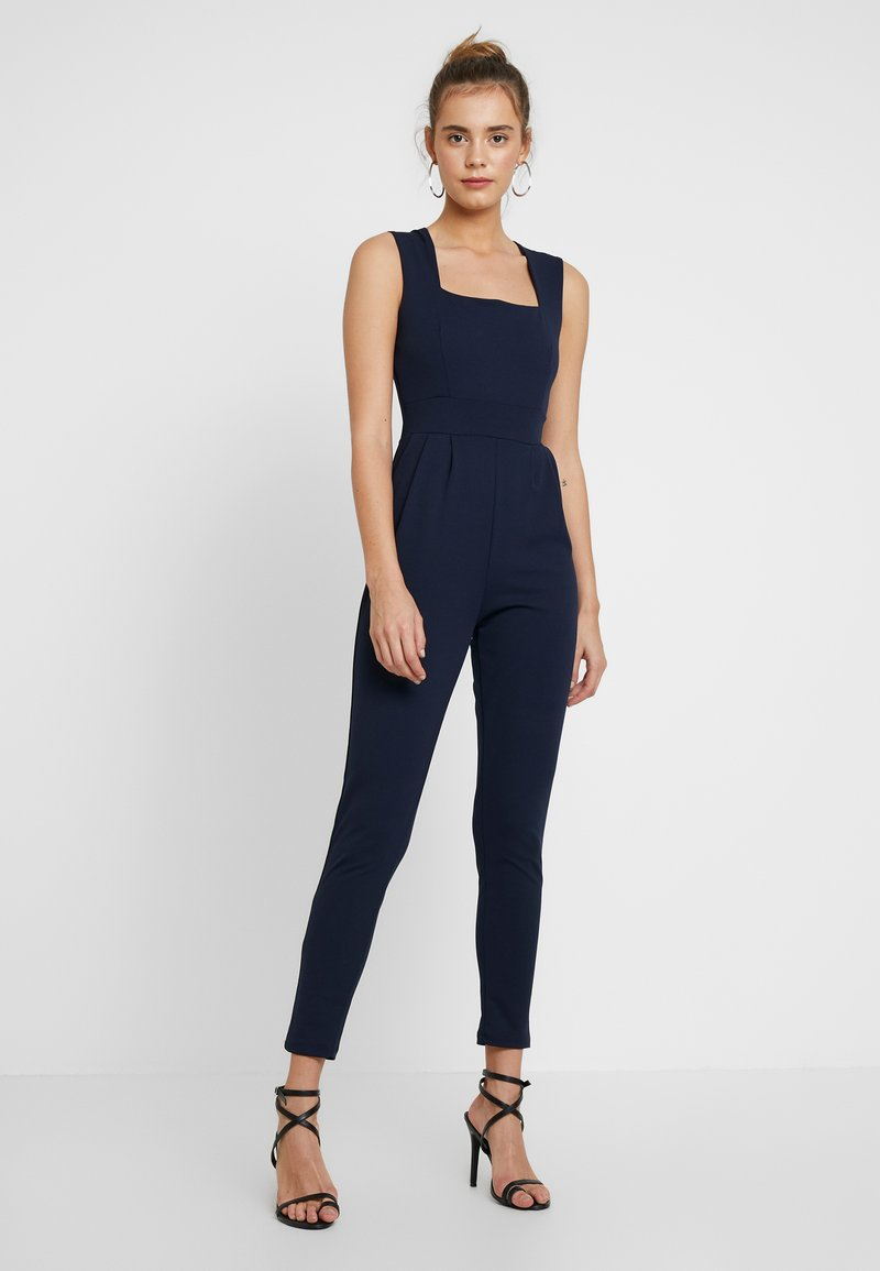WAL G. - SQUARE NECK  - Jumpsuit - navy