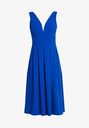 VNECK PLUNGE MIDI DRESS - Cocktail dress / Party dress - cobalt blue