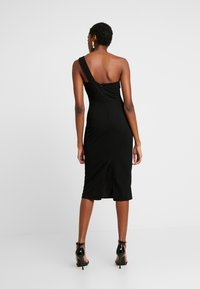 WAL G. - ONE SHOULDER MIDI DRESS - Cocktailkjole - black - 2