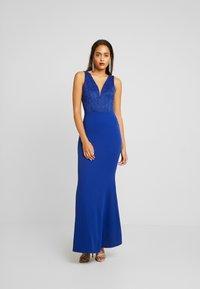 WAL G. - COVERED MAXI DRESS - Ballkjole - cobalt blue - 2