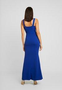 WAL G. - COVERED MAXI DRESS - Ballkjole - cobalt blue - 3