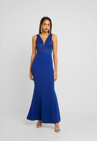 WAL G. - COVERED MAXI DRESS - Ballkjole - cobalt blue - 0