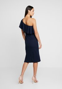 WAL G. - FRILL OFF THE SHOULDER DRESS - Juhlamekko - navy - 3