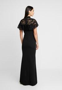 WAL G. - CAPE MAXI DRESS - Společenské šaty - black - 3