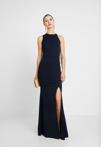 WAL G. - HIGH SPLIT MAXI DRESS - Gallakjole - navy - 2