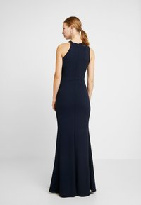 WAL G. - HIGH SPLIT MAXI DRESS - Gallakjole - navy - 3