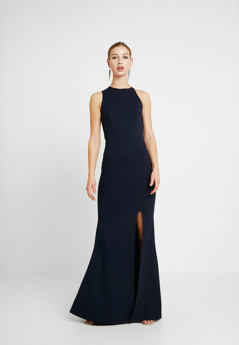 WAL G. - HIGH SPLIT MAXI DRESS - Gallakjole - navy