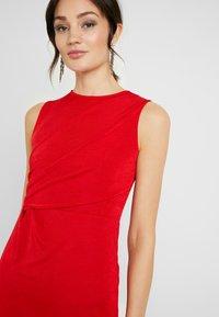 WAL G. - MOSS PLEATE DRESS - Iltapuku - red - 5