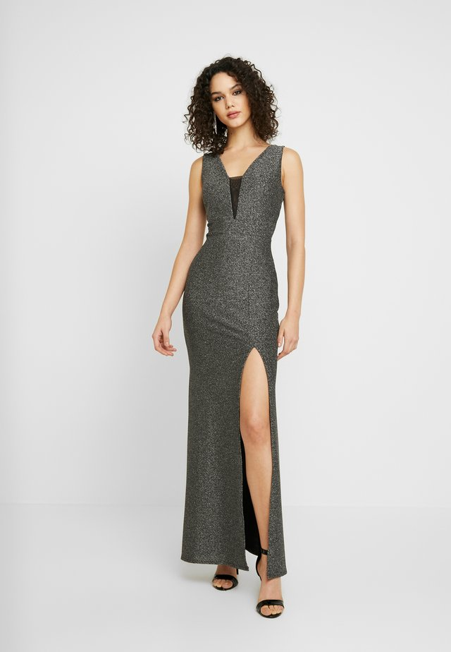 WITH NECK LINE - Occasion wear - silver
