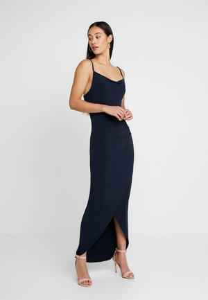 THIN STRAP DRESS - Occasion wear - navy