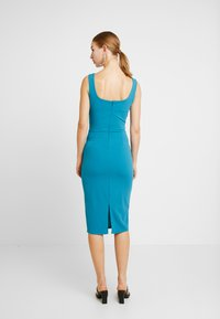 WAL G. - U NECK MIDI DRESS - Jerseykleid - teal - 3