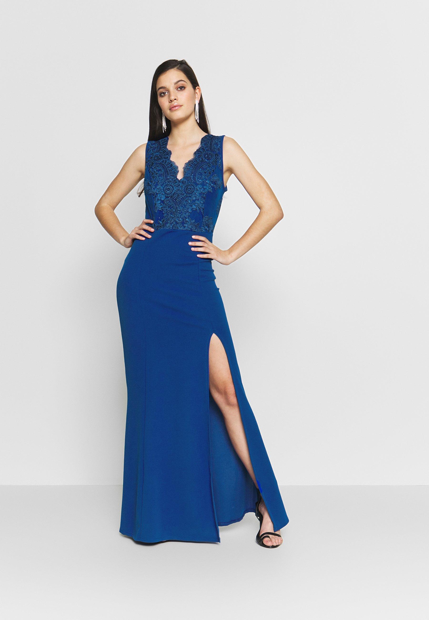 WAL G. ACCESSORIE MAXI DRESS - Suknia balowa - cobalt blue