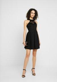 WAL G. - LACE SKATER DRESS - Day dress - black - 2