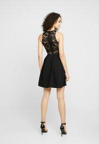 WAL G. - LACE SKATER DRESS - Day dress - black - 3