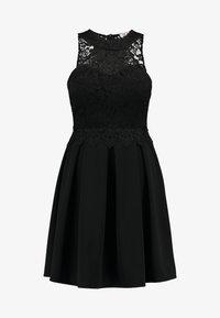 WAL G. - LACE SKATER DRESS - Day dress - black - 5
