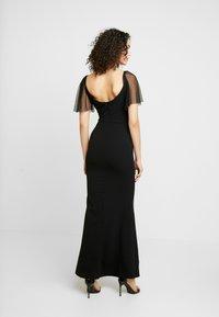 WAL G. - SLEEVE DRESS - Suknia balowa - black - 3