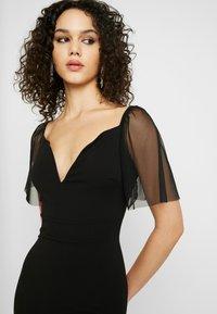 WAL G. - SLEEVE DRESS - Suknia balowa - black - 6