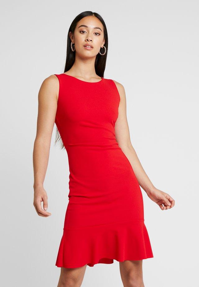 MINI DRESSFRILL - Cocktailkleid/festliches Kleid - red