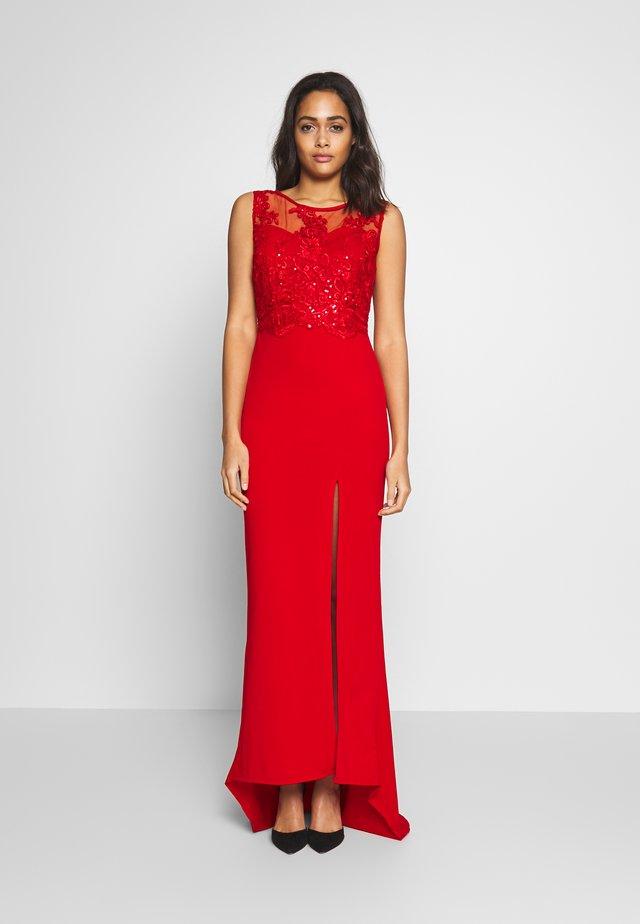 RED MAXI - Společenské šaty - red