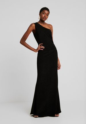 OFF THE SHOULDER LONG - Vestido de fiesta - black