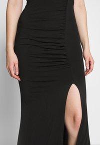 WAL G. - V DETAILED DRESS - Vestido de fiesta - black - 4