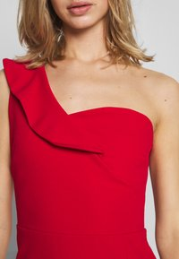 WAL G. - OFF THE SHOULDER FRILL DETAIL MAXI DRESS - Ballkjole - red - 4
