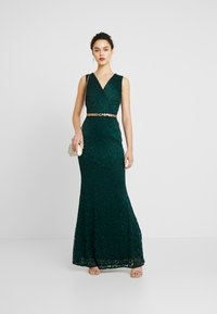 WAL G. - WASTE DETAILED SEQUIN - Iltapuku - forest green - 1