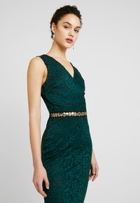 WAL G. - WASTE DETAILED SEQUIN - Iltapuku - forest green - 3