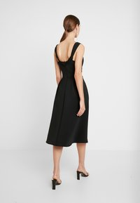 WAL G. - SHOULDER LAYERED MIDI DRESS - Cocktail dress / Party dress - black - 2