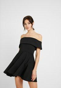 WAL G. - BARDO SKATER DRESS - Koktejlové šaty/ šaty na párty - black - 0