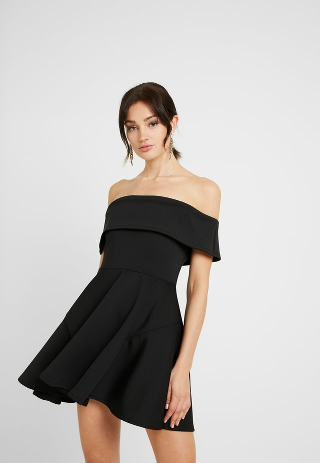BARDO SKATER DRESS - Vestito elegante - black