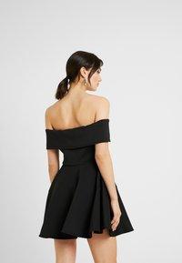 WAL G. - BARDO SKATER DRESS - Koktejlové šaty/ šaty na párty - black - 3