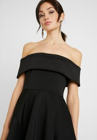 WAL G. - BARDO SKATER DRESS - Koktejlové šaty/ šaty na párty - black - 4