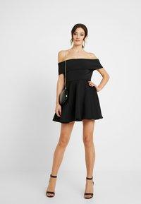 WAL G. - BARDO SKATER DRESS - Koktejlové šaty/ šaty na párty - black - 2