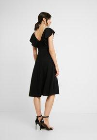 WAL G. - FLUTTER DRESS - Robe de soirée - black - 3