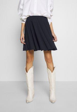 SKATER SKIRT - A-line skirt - navy