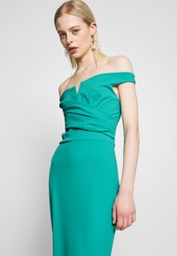 WAL G. - OFF THE SHOULDER DRESS - Galajurk - teal - 4
